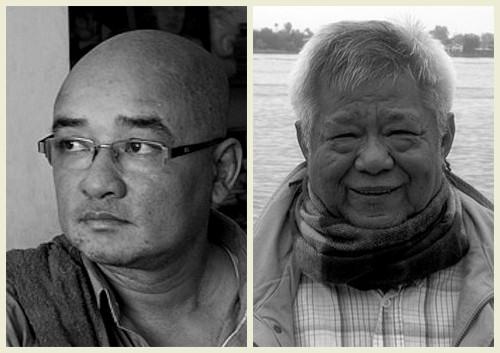 L-R Maung Thura, Tin Moe