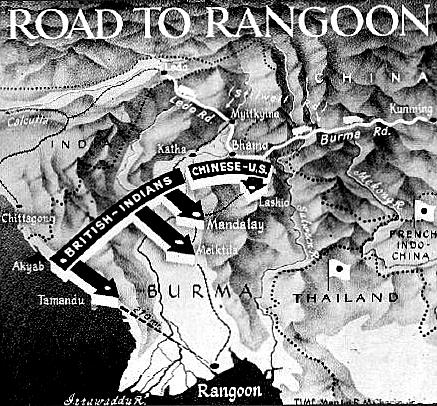 Stillwell Road Map