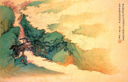 Wang Hui - Peach-Blossom-Fishing-Boat-1